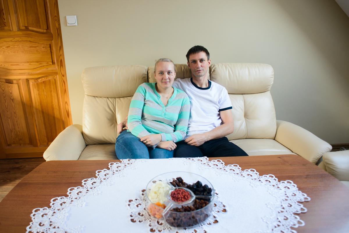 Iwona i Dariusz (fot. Piotr Idem)
