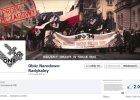 """Strona ONR usuni�ta z Facebooka. """"Prze�ladowanie patriot�w nie ustaje. Antykomunizm to my�lozbrodnia"""""""