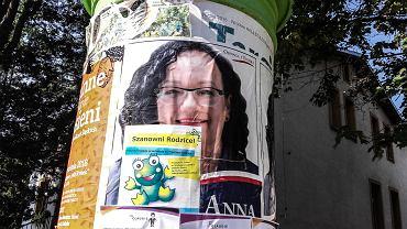 Plakat wyborczy Anny Morawieckiej