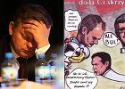 Pose� PiS wystawi� swoje komiksy w centrum kultury. Bohaterowie jego prac: Joanna Mucha, Donald Tusk... [ZDJ�CIA]