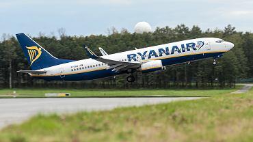 Ryanair. Zdjęcie ilustracyjne