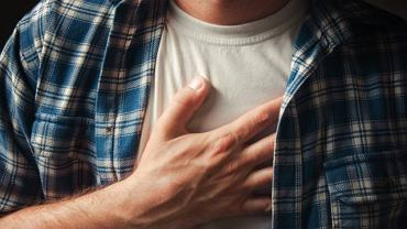 Ból w klatce piersiowej, duszność to bardzo często początek kłopotów z sercem