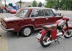 Fiat 125 i motocykl Jawa