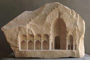Matthew Simmonds: miniaturowe wn�trza rze�bione w marmurze