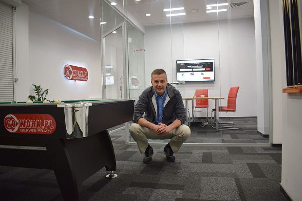 Adam Kosieradzki, prezes Gowork.pl