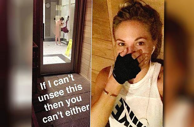 """Modelka """"Playboya"""" wyśmiała starszą kobietę, która przebierała się po siłowni. Teraz może ponieść karę"""