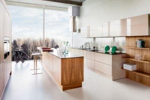 Nowoczesna zabudowa  kuchni - jak wyko�czy� fronty szafek?