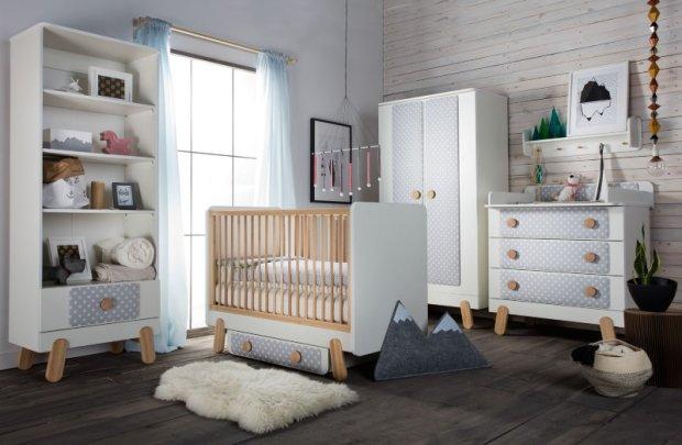 Kolekcja mebli dziecięcych Iga, Pinio
