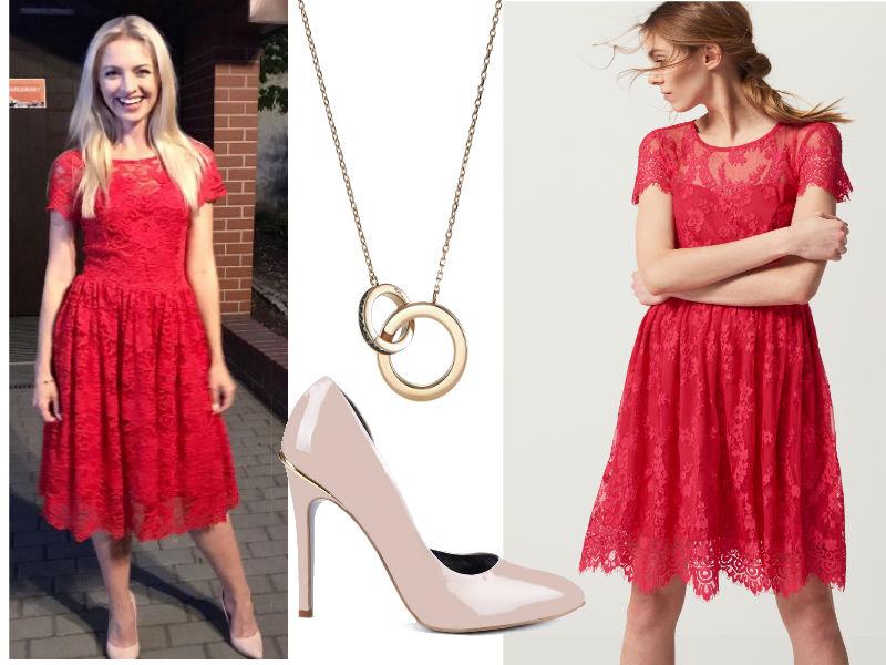 4300a528d7 Jakie buty pasują do czerwonej sukienki  Zobacz modną stylizację ...