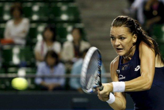 WTA Tokio. Agnieszka Radwa�ska: Czu�am si�, jakbym gra�a ze sob�