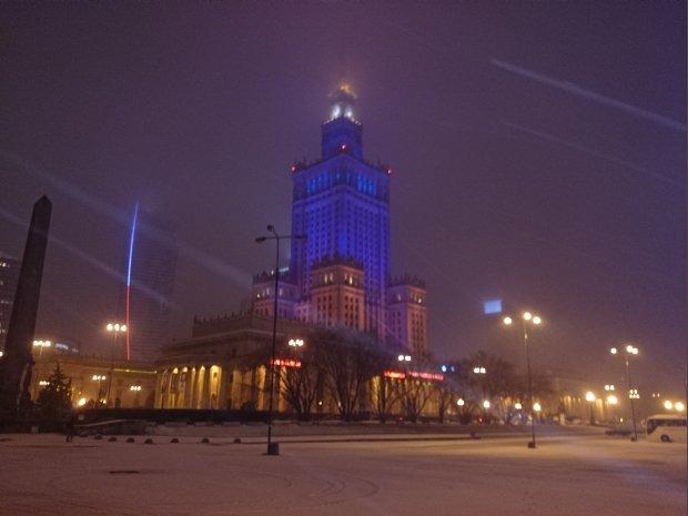Do Polski przysz�a zima. Pada �nieg, synoptycy zapowiadaj� wichur�
