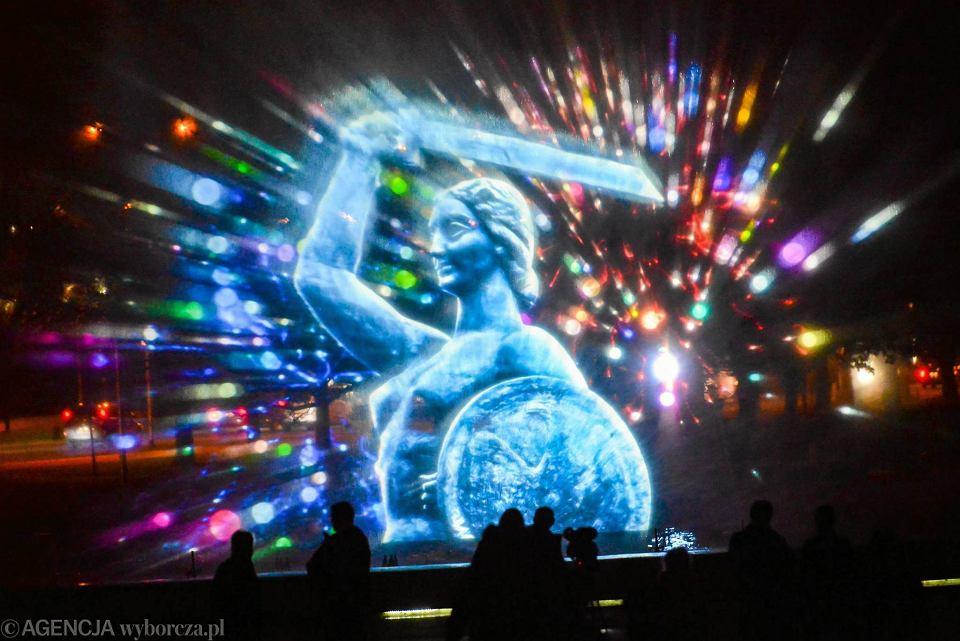 Открытие сезона в парке фонтанов в Варшаве на майские праздники