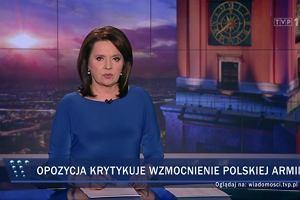 """""""Wiadomości"""" TVP bez wiadomości o sondażu niekorzystnym dla PiS [RECENZJA]"""
