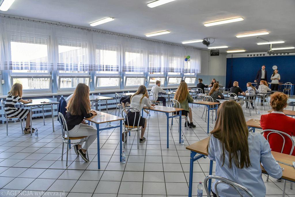 Egzamin gimnazjalny 2018. Część matematyczna