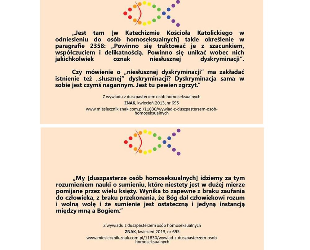 Większość księży stygmatyzuje osoby LGBTQ (fot. archiwum Wiara i Tęcza)