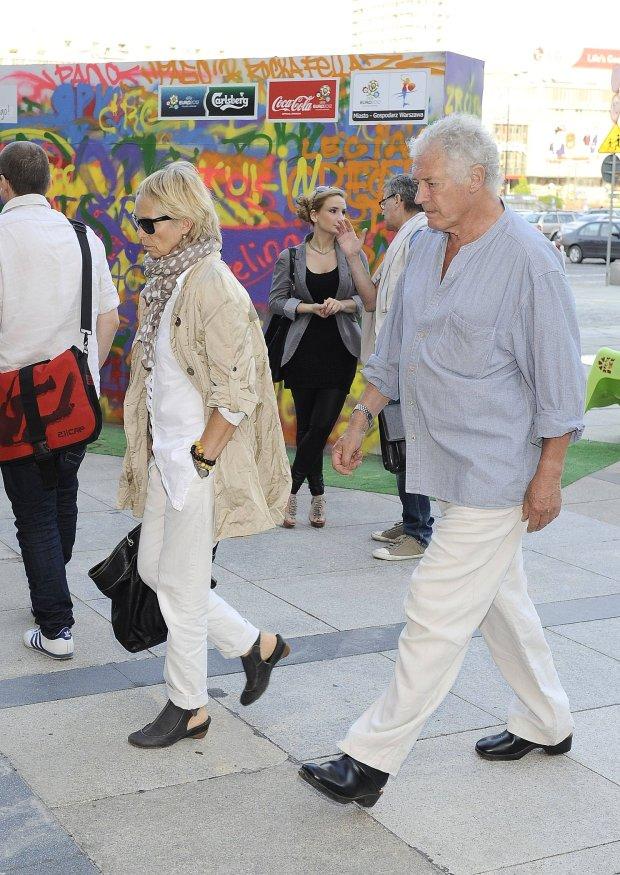 Małgorzata Braunek i jej mąż
