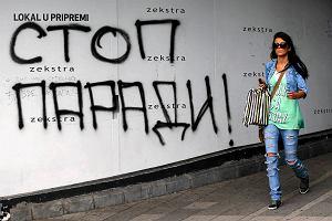 Serbia nie lubi gej�w