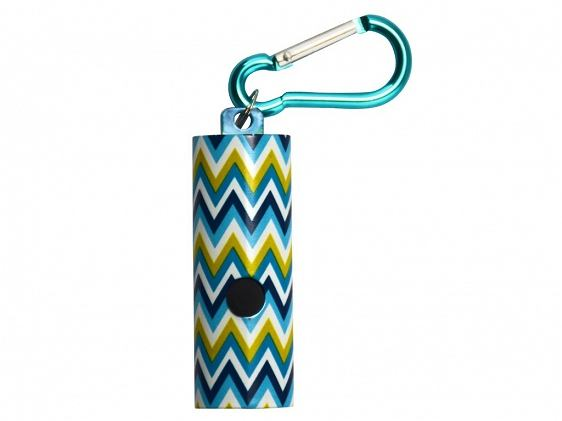 Latarka KeyGear Style Light Blue Chevron KEY011400