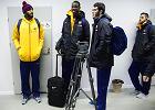 Najs�ynniejsi pasa�erowie lotniska w Babimo�cie: koszykarzy Barcelony witali�my winem i miodem