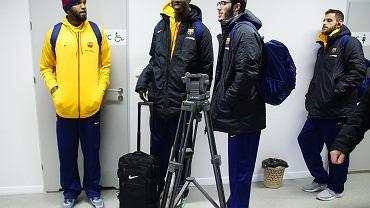 Przylot zawodników FC Barcelona Lassa do Babimostu