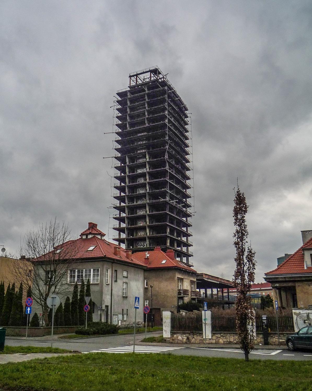 Widok od al. Beliny-Prażmowskiego (fot. Mateusz Witkowski)