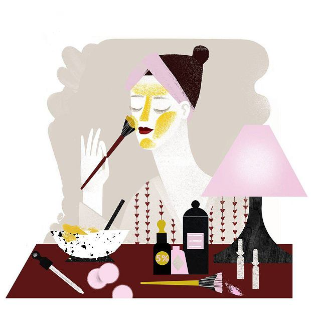 Kuracja jak z gabinetu kosmetyczki, a tania i blisko. Kwasy, serum, maska, krem - jesienna odnowa skóry