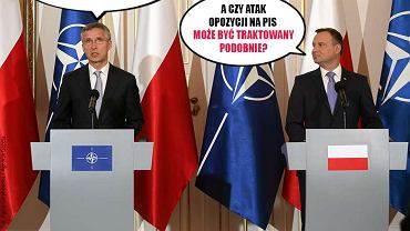 SokzBuraka   Czy NATO obroni PiS? (SokzBuraka, 07.07.2016)