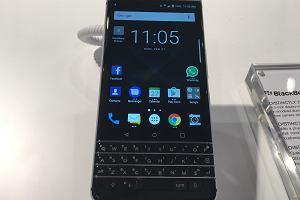 MWC 2017: BlackBerry KeyOne z bliska. Android i klawiatura to bardzo ciekawe połączenie