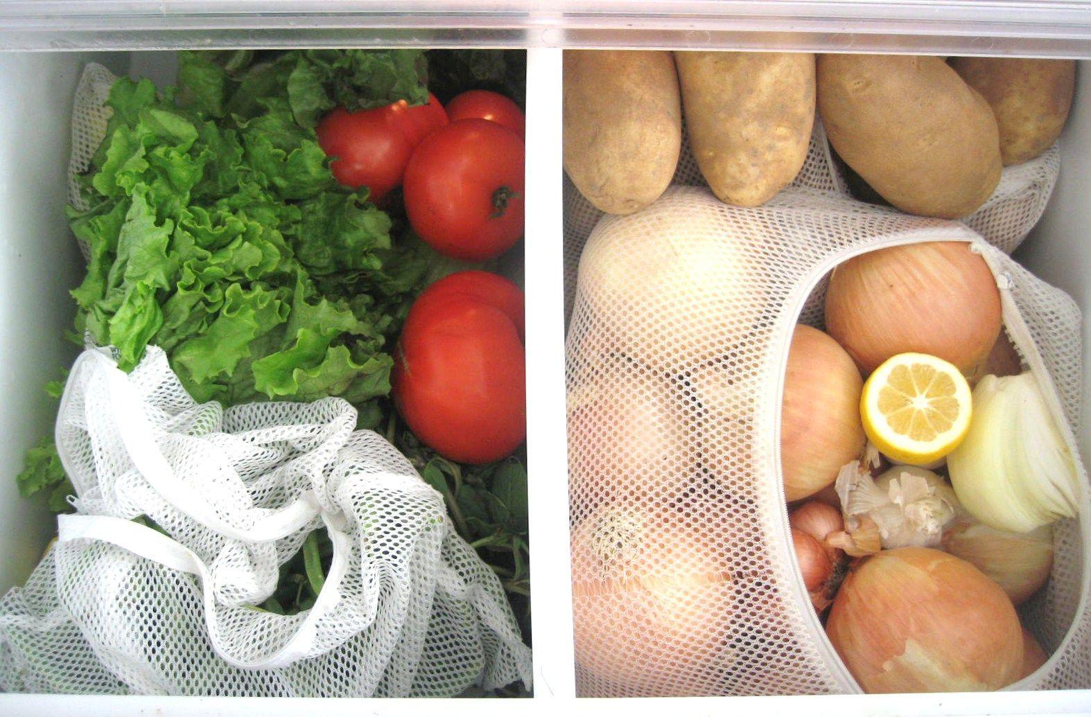Przechowywanie warzyw (fot. Bea Johnson)
