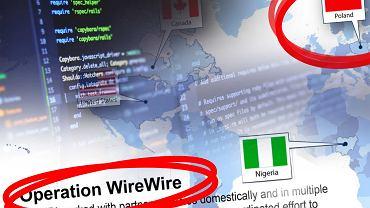 FBI przeprowadziła akcję WireWire. Zatrzymania również w Polsce