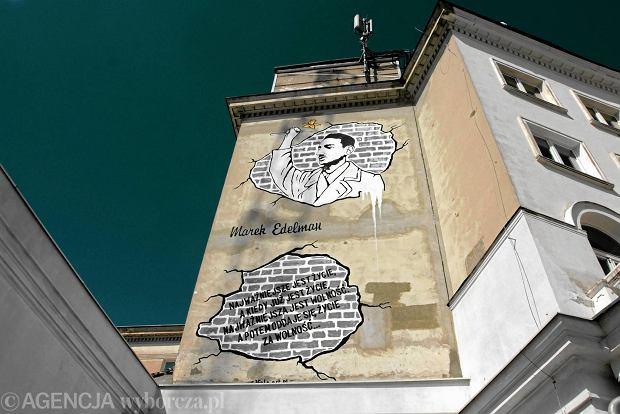 Zniknie mural z edelmanem i nie chodzi tylko o remont for Mural ursynow