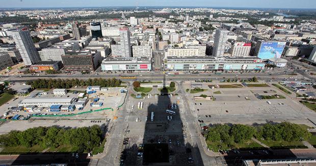 Plac Defilad w 2014 roku.