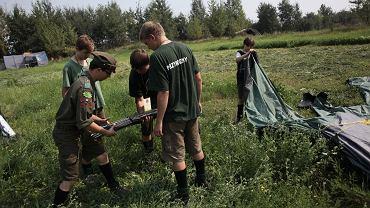 Z obozu w Juszczynie ewakuowano harcerzy / zdjęcie ilustracyjne