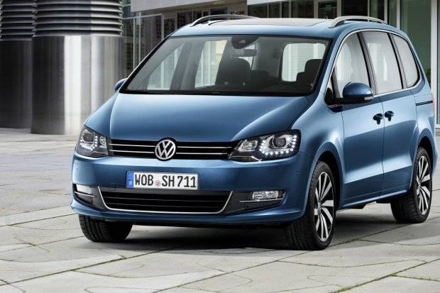 "Volkswagen Sharan 2.0 TDI | Test | Van przez du�e ""V"""