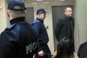 Celebryta Dariusz K. przed sądem. Grozi mu do 12 lat więzienia