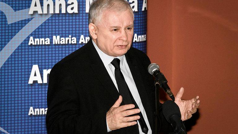 Jarosław Kaczyński w Zambrowie