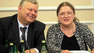 Marek Suski i Krystyna Pawłowicz