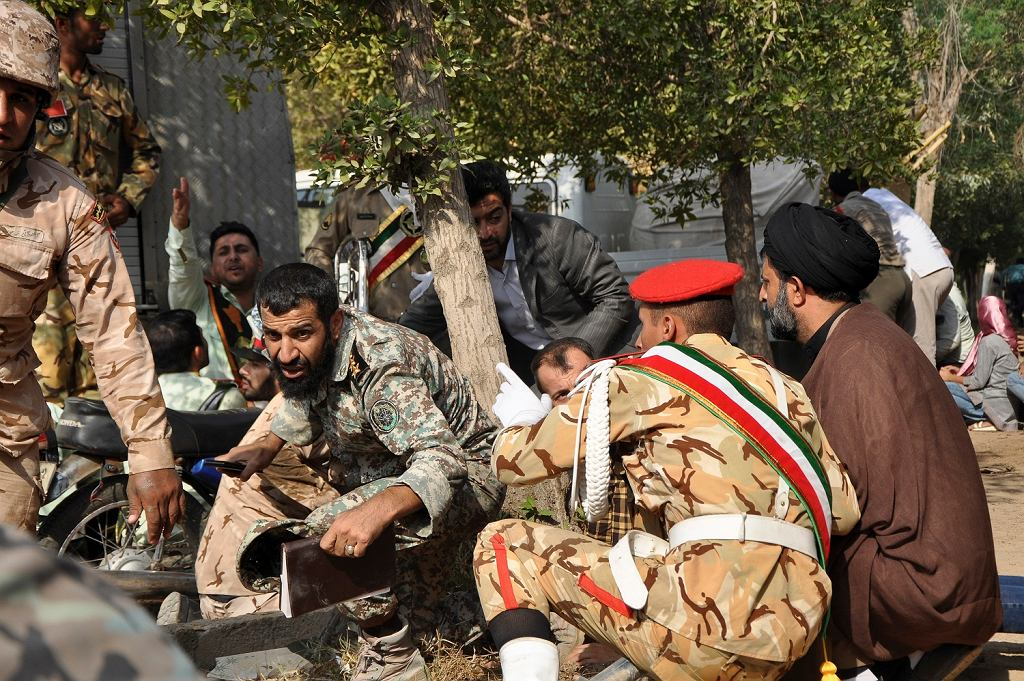 Zamach w Iranie