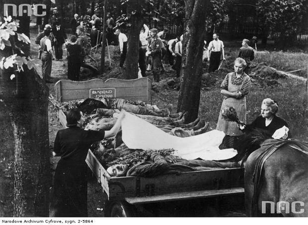 Zdjęcie numer 0 w galerii - Z Krwawej Niedzieli Niemcy zrobili sobie propagandową szopkę