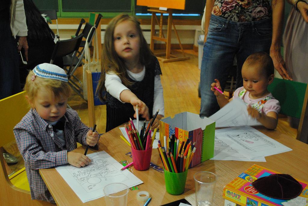 - We Frajdzie dzieci będą uczyć się żydowskiej kultury przez zabawę - zapowiada dyrektor placówki (fot. Marcel Wandas)