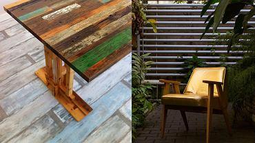 Recykling jest w modzie. Meble z drewna odzyskanego