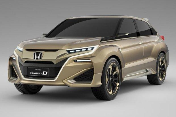 Honda UR-V | Czas na du�ego SUV-a