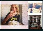 Hanne Gaby Odiele z okazji urodzin objada si� p�czkami, a Doutzen Kroes chwali si� form� po ci��y...