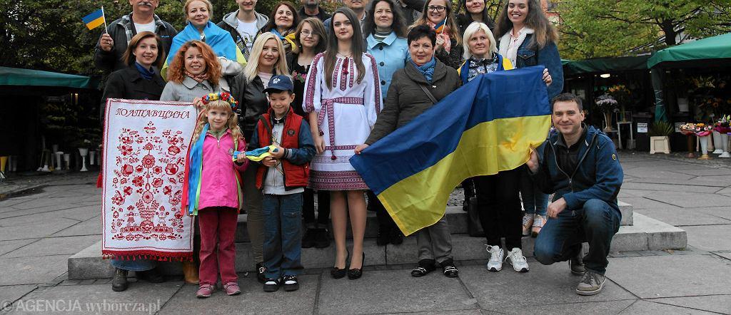 Ukraińcy mieszkający we Wrocławiu