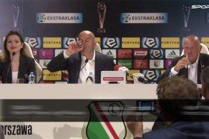 """Legia - Piast 4:0. Czerczesow zacz�� od toastu. """"Nie wiem, jak Hamalainen si� jutro podniesie po tym meczu"""""""