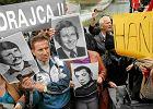 """""""Ha�ba, precz z komun�!"""". Krzyki i protesty na pogrzebie gen. Jaruzelskiego"""
