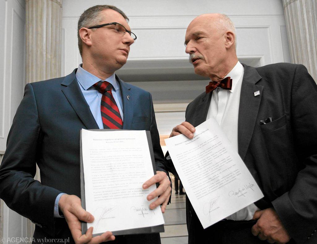 Przemysław Wipler i Korwin-Mikke