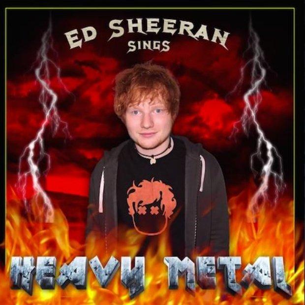 """Ed Sheeran pojawił się w poniedziałkowym odcinku """"The Tonight Show Starring Jimmy Fallon"""", gdzie dla zabawy promował fikcyjny album """"Ed Sheeran Sings Heavy Metal"""". Co z tego wynikło?"""