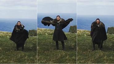 Jon Snow udaje smoka