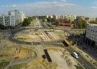 Budują linię tramwajową: zniknie rondo, zostaną wąskie ulice